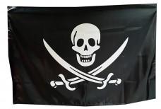 Купить Прапор піратський Череп і шаблі в интернет-магазине Каптерка в Киеве и Украине