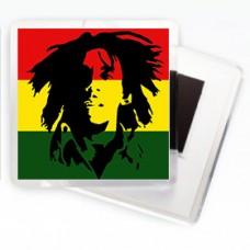 Магнитик Флаг Боб Марли