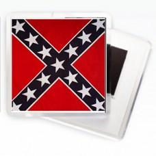 Магнитик Флаг Конфедерации (квадратный)