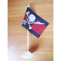Настільний прапорець Піратський