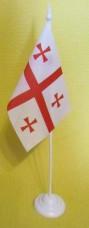 Купить Грузія настільний прапорець в интернет-магазине Каптерка в Киеве и Украине
