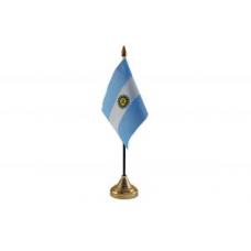 Аргентина настільний прапорець