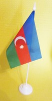 Азербайджан настільний прапорець