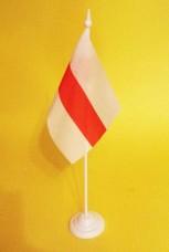 Настільний прапорець Білорусь історичний БЧБ прапор