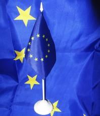 Купить Настольный флажок Евросоюза в интернет-магазине Каптерка в Киеве и Украине