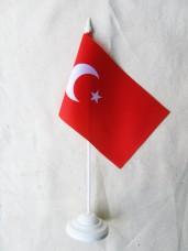 Купить Настільний прапорець Туреччини в интернет-магазине Каптерка в Киеве и Украине
