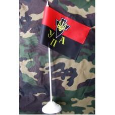Настольный флажок с эмблемой УПА