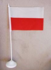 Купить Польща настільний прапорець в интернет-магазине Каптерка в Киеве и Украине
