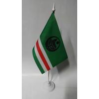 Прапор Ічкерії, настольний з пластиковою підставкою