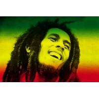 Флаг Боб Марли