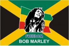 Прапор Боб Марлі Freedom