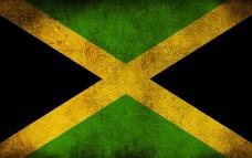 Прапор Ямайки стилізований варіант