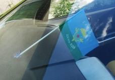 Автомобильный флажок 2 августа День ВДВ