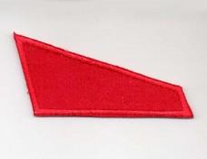 Красный уголок на берет ВДВ