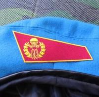 Красный уголок на берет ВДВ Украина (вышивка)