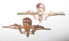 Эмблема ВДВ желтая