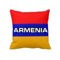 Подушка флаг Армения - ARMENIA