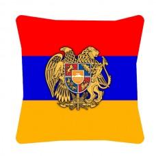 Декоративна подушка прапор Вірменія Герб