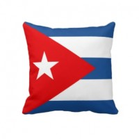 Декоративна подушка прапор Куба