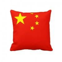 Декоративна подушка прапор Китаю