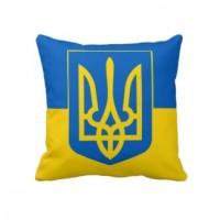 Подушка Украина с тризубом