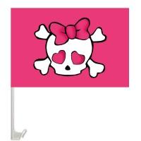 Автомобільний прапорець Hello Kitty піратський