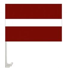 Автомобільний прапорець Латвія