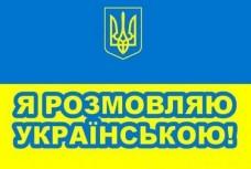 Автомобільний прапорець Я розмовляю українською