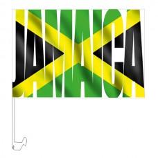 Автомобільний прапорець Ямайка стилізований