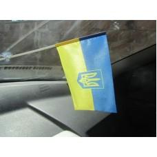 Авто прапорець Україна тризуб