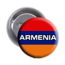Значок флаг Армении - Armenia