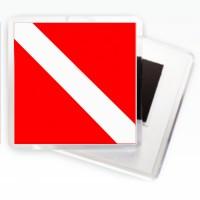 Магнитик Флаг Дайвер