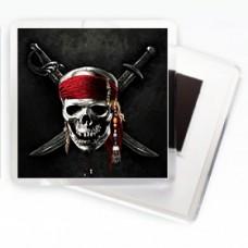 Магнітик пірати Карібських островів череп