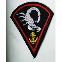 Шеврон 73 Морской центр спецопераций скорпин