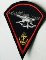 Шеврон 73 Морской центр спецопераций символ сокол
