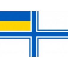 Флаг ВМСУ 90х60см