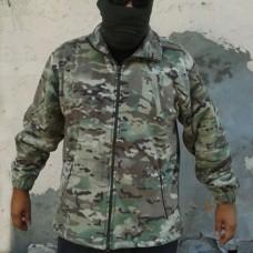 Купить Куртка флисовая камуфляж мультикам в интернет-магазине Каптерка в Киеве и Украине