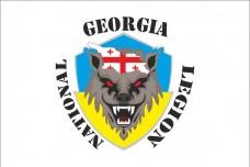 Флаг Грузинский Легион