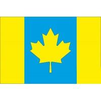 Флаг Украина - Канада