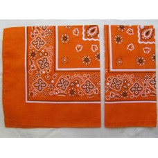 Бандана классика оранжевая