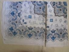 Бандана Бело-голубой рисунок