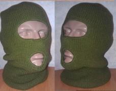 Купить Балаклава REIS вязанная зеленая.  в интернет-магазине Каптерка в Киеве и Украине
