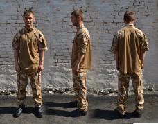 Купить Рубашка Ubacs DDPM короткий рукав оригинал Великобритания в интернет-магазине Каптерка в Киеве и Украине