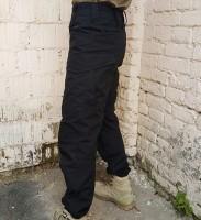 Черные штаны Brotherhood Urban тактический крой