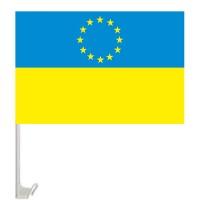 Автофлаг Евросоюз Украина