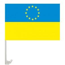 Автомобільний прапорець Євросоюз-Україна