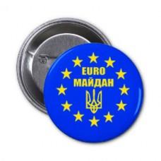 Купить Значок EURO Майдан в интернет-магазине Каптерка в Киеве и Украине