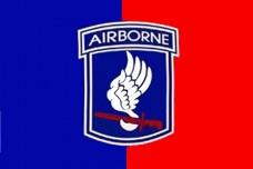 Флаг 173й воздушно-десантной бригады армии США