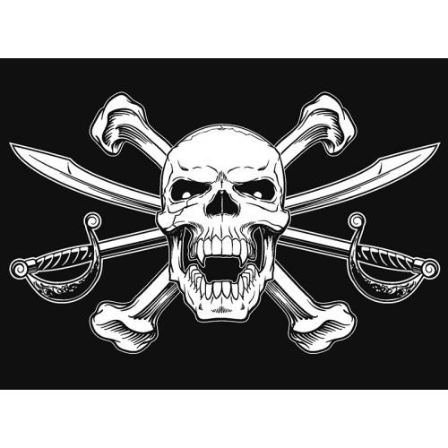 Пиратский флаг купить киев цена