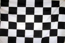 Прапор автоперегони старт-фініш